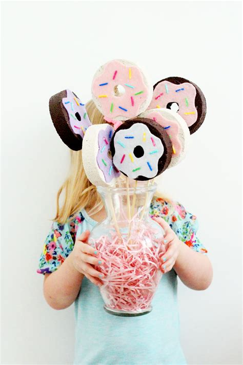 Dining Table Centerpiece Ideas Diy by Laughing Latte Diy Donut Bouquet Laughing Latte