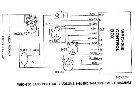 wiring hxb 405 talkbass