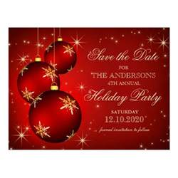 christmas or holiday party save the date postcard zazzle