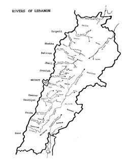 Lebanon Coloring Pages