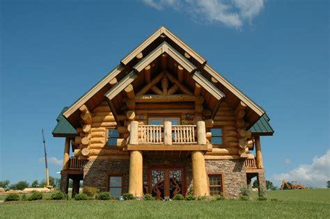 Modern Log Home Plans by Modern Log Cabins Plans Hearthstone Homes