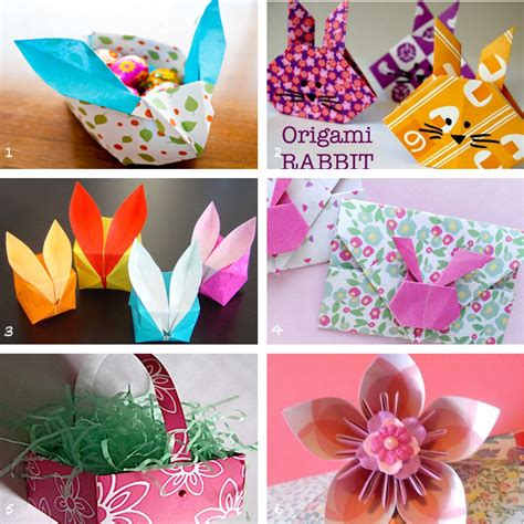 Easter Origami - easter origami