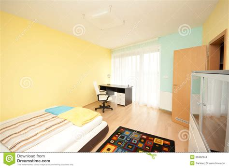 Simple Bedroom Color Schemes simple bedroom stock photo image of blanket office