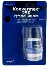 Obat Cacing Konvermex konimex e store konvermex 250 suspensi