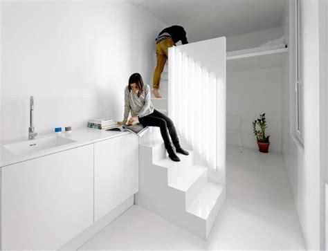 designing for super small spaces 5 micro apartments micro parisian studio apartment uses artificial lighting
