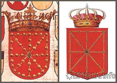 significado cadenas escudo navarra estella info tierra estella y ciudad de estella navarra