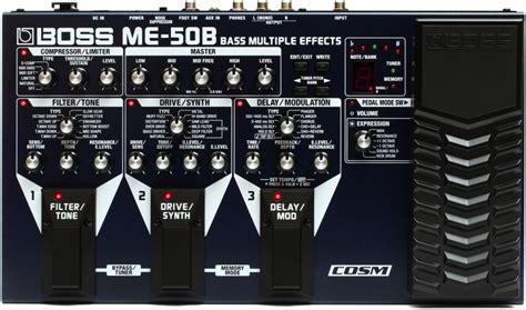 Unit Me 50 B Bass me 50b bass multi effects pedal sweetwater