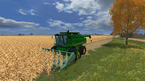 new john deere combine developments for 2015 john deere 9670 sts v2 combine farming simulator 2015