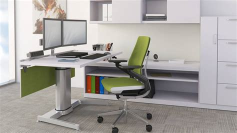 airtouch standing desk seated workspace steelcase