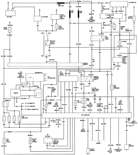 1980 toyota alternator wiring diagram wiring