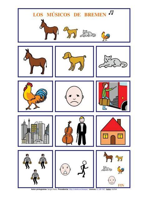 descargar los musicos de bremen libro de texto gratis cuentos con pictogramas