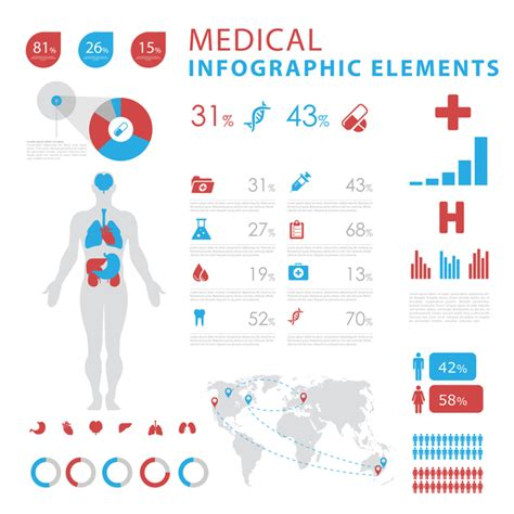 medicine templates free vector infgraphic template 08 vector business