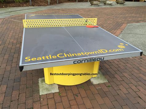 outside ping pong table seattle outdoor ping pong tables