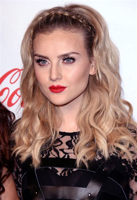 celebrity hair how to perrie edwards braided headband