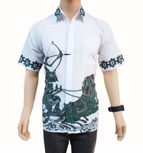 Baju Batik Kemeja Batik Pria Modern Hem Batik Wajik baju batik pria hp182 baju batik pria modern