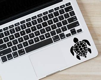 Tokomonster Decal Sticker Sea Turtle 2 Macbook Pro And Air computer decal etsy