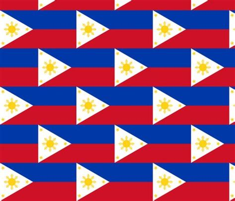 printable fabric philippines philippines flag fabric flagfabric spoonflower