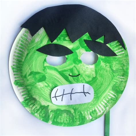 Mask Craft Paper Plate - paper plate mask masking and craft
