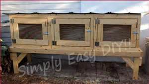 Rabbit Hutch Build 10 Diy Rabbit Cages And Hutches For Your Fluffy Friends