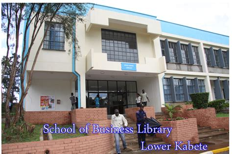 Of Nairobi School Of Business Mba by School Of Business Library Of Nairobi Library