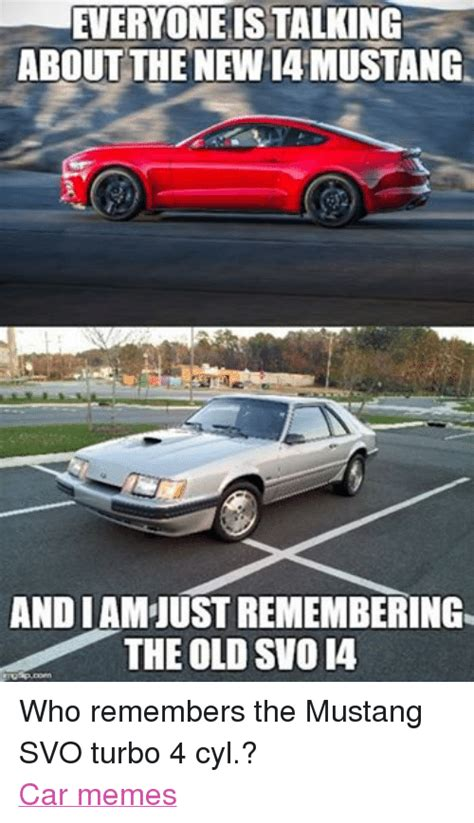 New Car Meme - everyone istalking about the new mustang