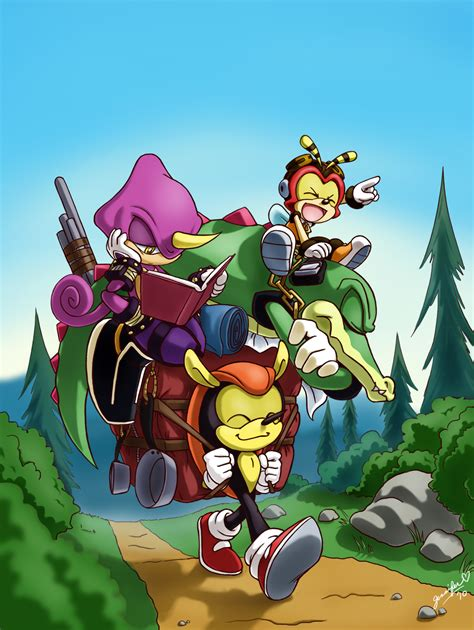 imagenes de vector the crocodile team chaotix sonic the hedgehog image 1501763