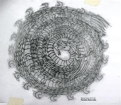 imagenes de serpientes para dibujar a lapiz quetzalcoatl serpiente emplumada dibujo a lapiz imagui
