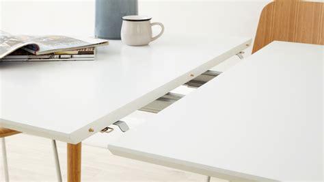 10 Seater Extending Dining Table Matt White Extending Dining Table Oak Chrome Legs Uk
