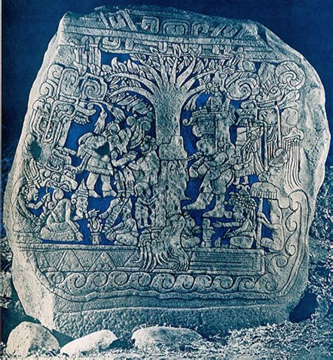 which of the following show evidence of ancient river beds archaeological and historical evidence the izapa stela 5 stone