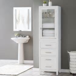 bathroom linen cabinet tower belham living longbourn linen tower linen cabinets at