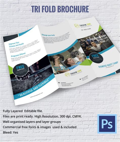 tri fold brochure template psd free 17 best brochure templates documents in psd