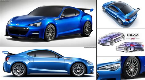 subaru brz weight distribution subaru brz sti concept 2011 pictures information specs