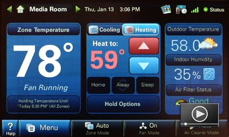 Carrier Comfort Zone Ii Troubleshooting by Comfortlink Ii Thermostat