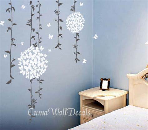 Flower Wall Decals For Nursery Flower Wall Decals Tree Vinyl Wall Decals Cuma Wall Decals
