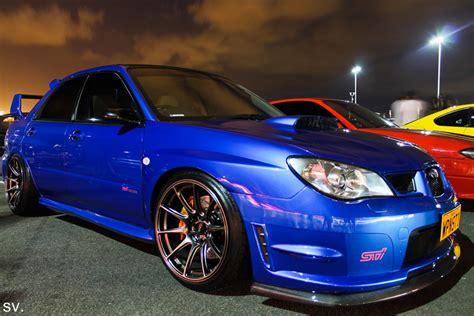 Blue Ride 02 subaru impreza wrx sti blue xxr rides styling