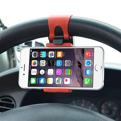 Steering Wheel Phone Socket Holder car steering wheel phone socket holder starcity pk