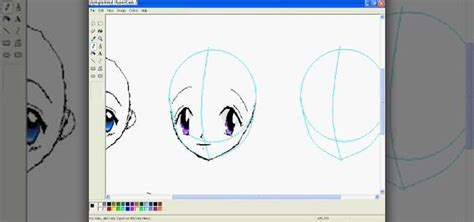 paint draw how to draw anime in ms paint 171 software tips