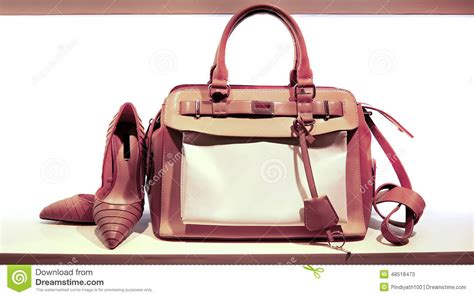 Jermaine Dupris Collects Shoes Handbags by Leather Bag And Shoes Stock Image Image Of
