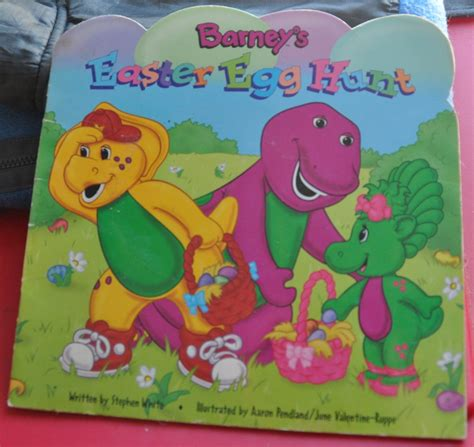 Barneys Easter Egg Hunt   Cover
