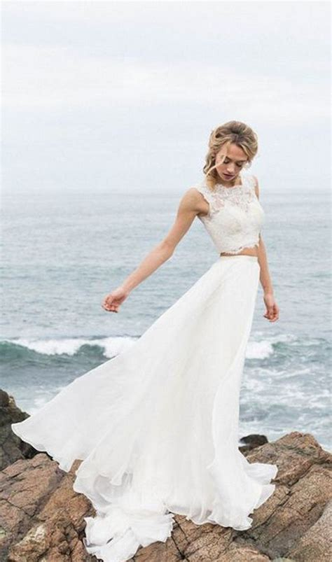 Trending Top 10 Two Piece Wedding Dresses for 2018   Oh