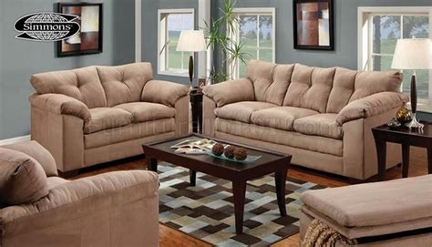 tan suede couch tan micro suede contemporary sofa loveseat set