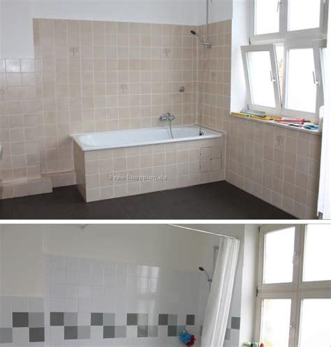 Fliesen Lackieren Bilder Vorher Nachher by Badezimmer Fliesen Streichen Vorher Nachher Badezimmer