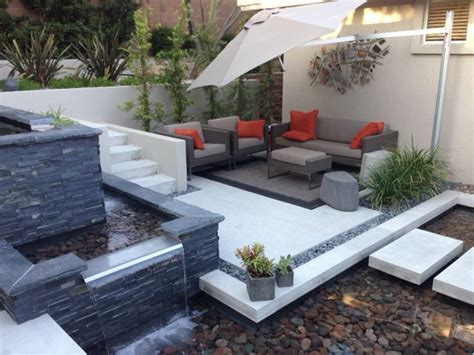 Modern Landscaping Ideas For Small Backyards by 20 Awesome Small Backyard Ideas Water Features Backyard