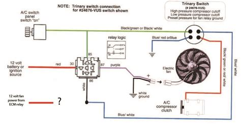 cooling fan relay wiring diagram for ls3 wiring diagram