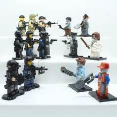 Lego Part Ac23 14pcs walking dead rick grimes v1 mini figure made with lego minifig walking dead