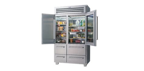 Pro 48 With Glass Door Price Pro 48 Size Refrigeration Sub Zero Wolf Appliances