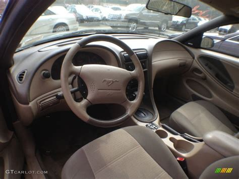 Mustang 2002 Interior by Medium Parchment Interior 2002 Ford Mustang V6 Coupe Photo