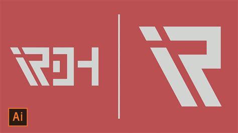 tutorial text logo illustrator illustrator tutorial custom text logo how to make a