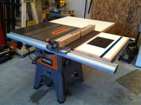 Melly Folding Table Saw Outfeed Plans