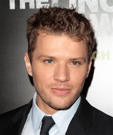 Ryan Phillippe Short Wavy Casual Hairstyle   Light